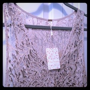 Free People Mini Dress, Large